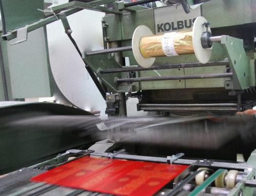 Stampa a caldo delle copertine
